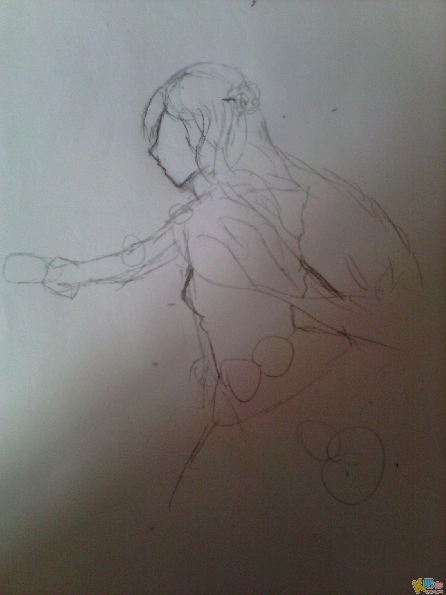 【直播】动漫人物画法及铅笔上色