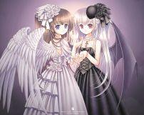 天使到最后也会坠落成恶魔......